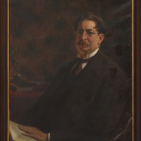 [Retrato de José Enrique Rodó]