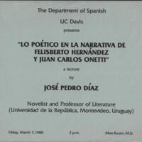 Lo poético en la narrativa de Felisberto Hernández y Juan Carlos Onetti
