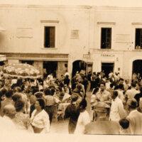 Mercado  en la isla de Capri (Italia, 1951)