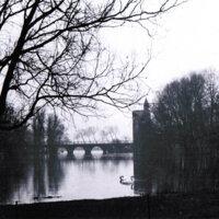 Paisaje en Brujas, la ciudad de los puentes (Bélgica)