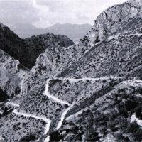 Montañas en el sur de Italia.