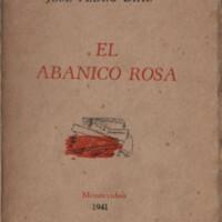 El abanico rosa : suite antigua